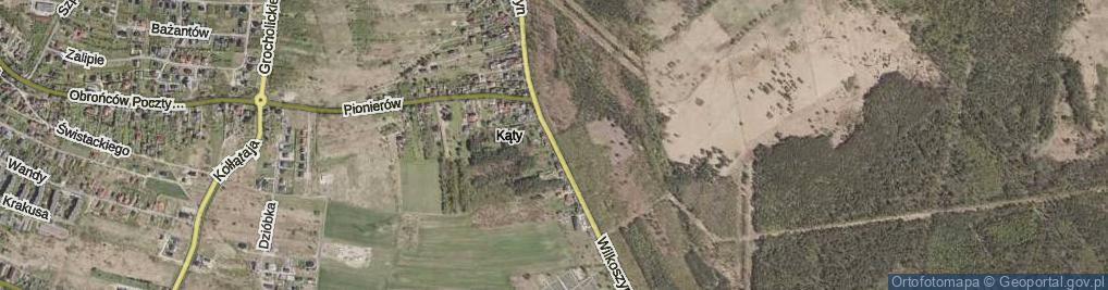 Zdjęcie satelitarne Wilkoszyn ul.