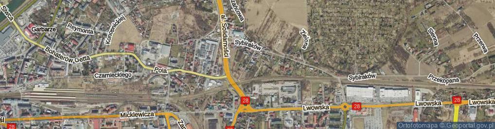 Zdjęcie satelitarne Wiśniowskiego Teofila ul.