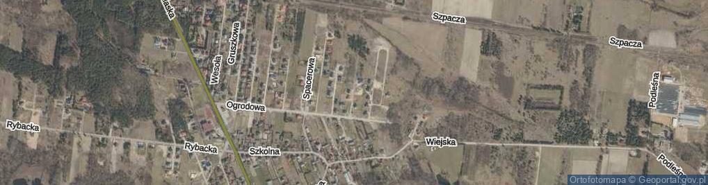 Zdjęcie satelitarne Winogronowa ul.