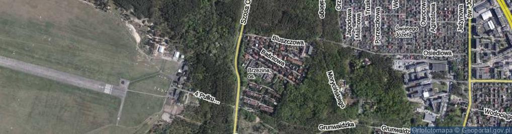 Zdjęcie satelitarne Wierzyńskiego Kazimierza ul.