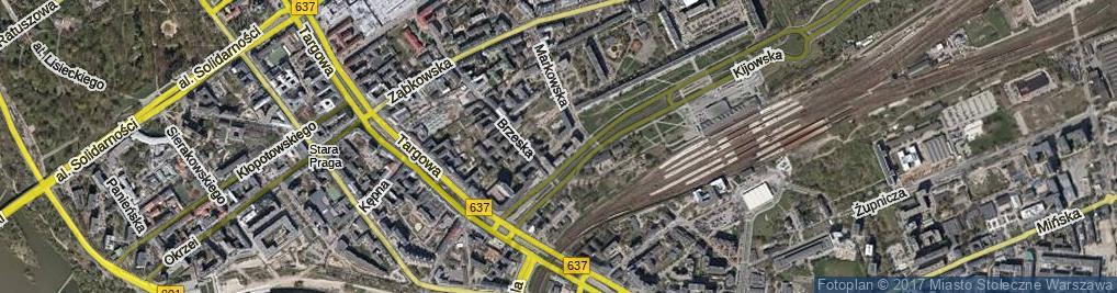 Zdjęcie satelitarne Wieczorkiewicza Bronisława ul.