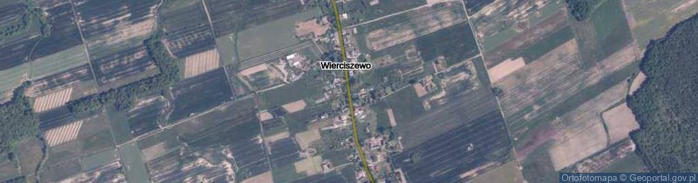 Zdjęcie satelitarne Wierciszewo ul.