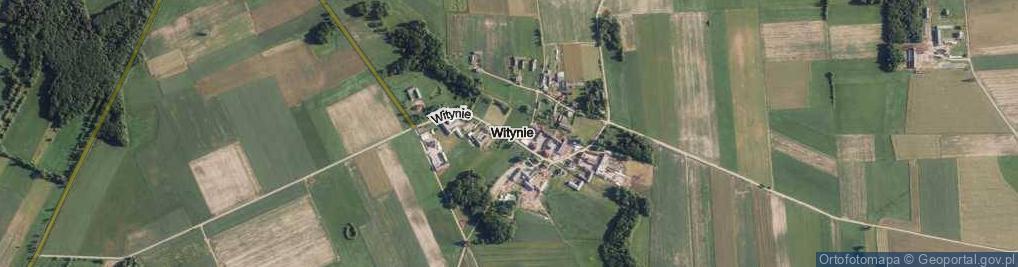 Zdjęcie satelitarne Witynie ul.