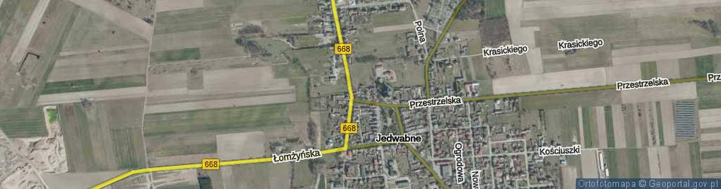 Zdjęcie satelitarne Wjazd ul.