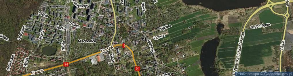 Zdjęcie satelitarne Wolnego Antoniego ul.