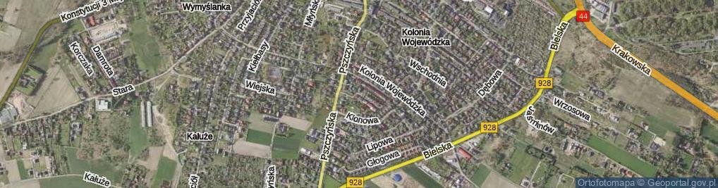 Zdjęcie satelitarne Wojaczka Rafała ul.