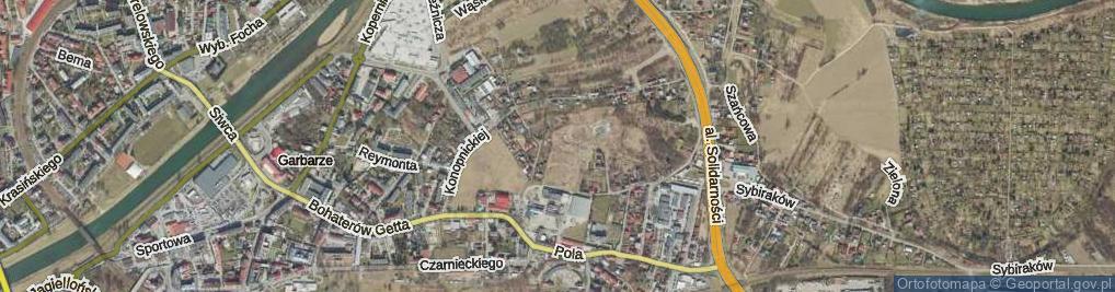 Zdjęcie satelitarne Wozowa ul.
