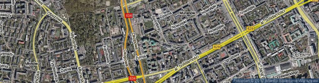Zdjęcie satelitarne Wolność ul.