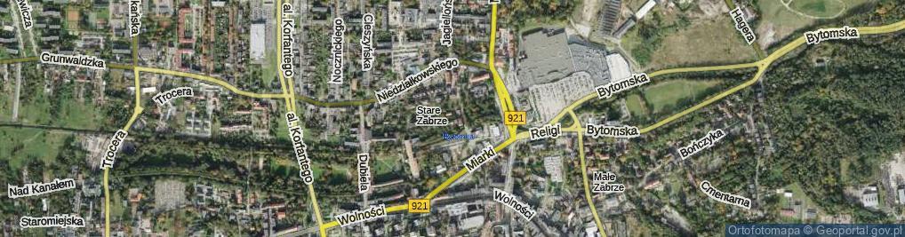 Zdjęcie satelitarne Woźnicy Jana ul.
