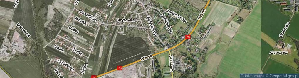 Zdjęcie satelitarne Wosia Michała, ks. ul.