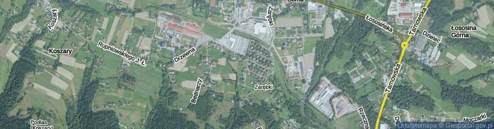 Zdjęcie satelitarne Wyspiańskiego Stanisława ul.