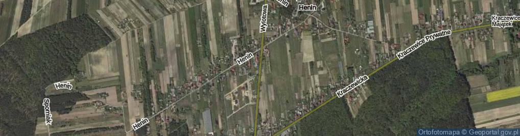 Zdjęcie satelitarne Wylotowa ul.
