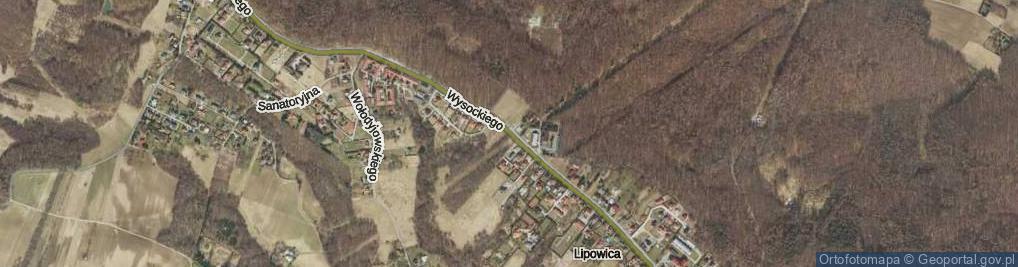 Zdjęcie satelitarne Wysockiego Józefa, gen. ul.