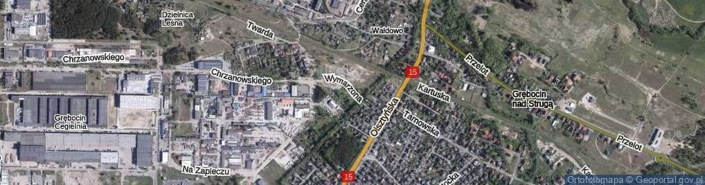 Zdjęcie satelitarne Wymarzona ul.