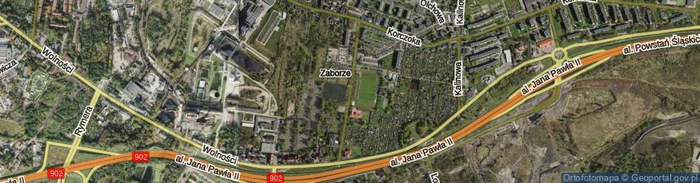Zdjęcie satelitarne Wyciska Jerzego ul.