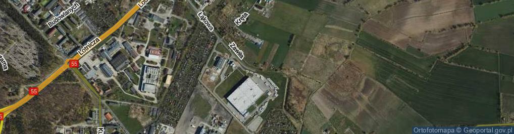 Zdjęcie satelitarne Zawiła ul.