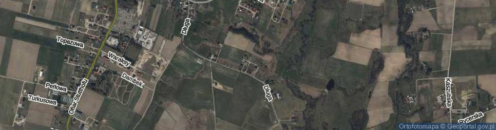 Zdjęcie satelitarne Zakątna ul.