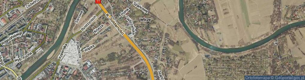 Zdjęcie satelitarne Zagrodowa ul.