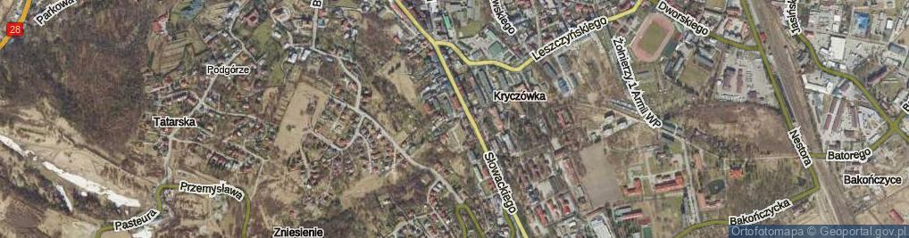 Zdjęcie satelitarne Zaleskiego Bohdana ul.
