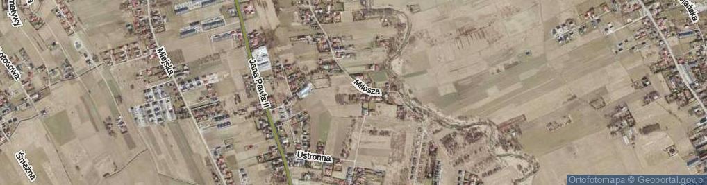 Zdjęcie satelitarne Zastruże ul.