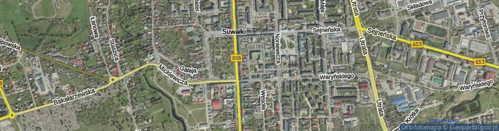 Zdjęcie satelitarne Zawadzkiego Jerzego Jana, ks. ul.