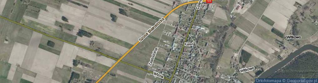 Zdjęcie satelitarne Zastodolna ul.