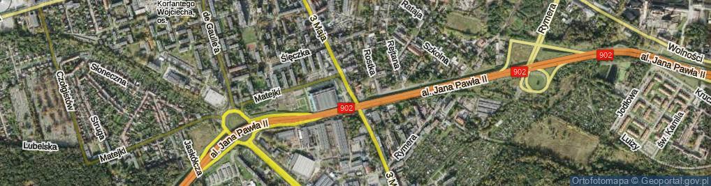 Zdjęcie satelitarne Zana Tomasza ul.