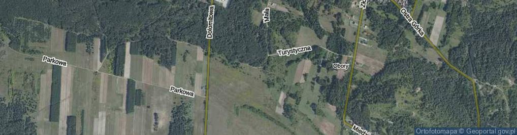 Zdjęcie satelitarne Zajączków ul.