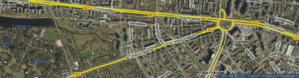 Zdjęcie satelitarne Zbaraska ul.