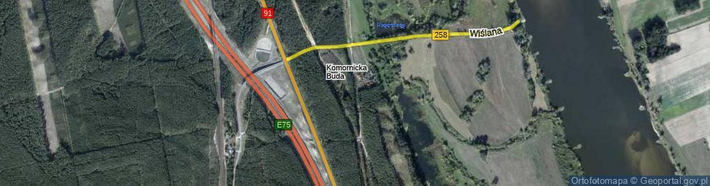 Zdjęcie satelitarne Żeglarzy ul.