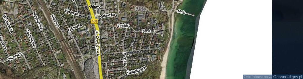 Zdjęcie satelitarne Zegarskiego Teofila, dr. ul.