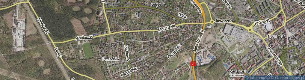 Zdjęcie satelitarne Zegadłowicza Emila ul.