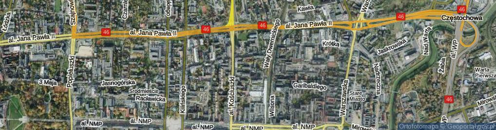 Zdjęcie satelitarne Zimorowicza ul.