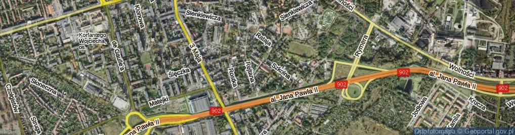 Zdjęcie satelitarne Zielińskiego Mikołaja ul.