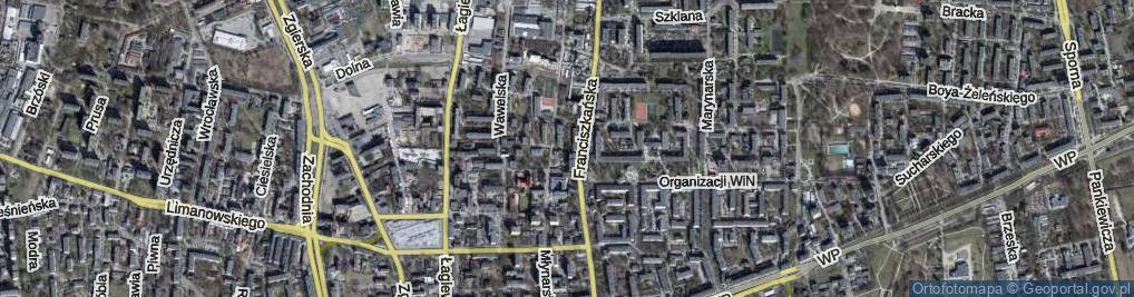 Zdjęcie satelitarne Zofii ul.