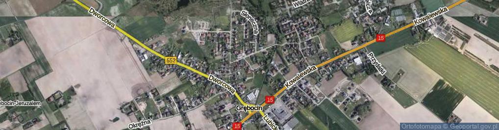 Zdjęcie satelitarne Zorzy ul.