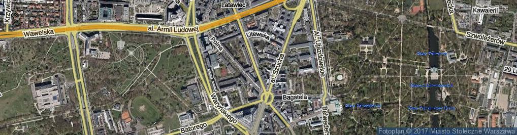 Zdjęcie satelitarne Zoli Emila ul.