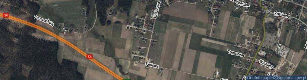 Zdjęcie satelitarne Żurawinowa ul.