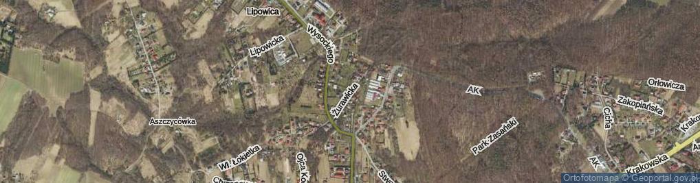 Zdjęcie satelitarne Żurawicka ul.