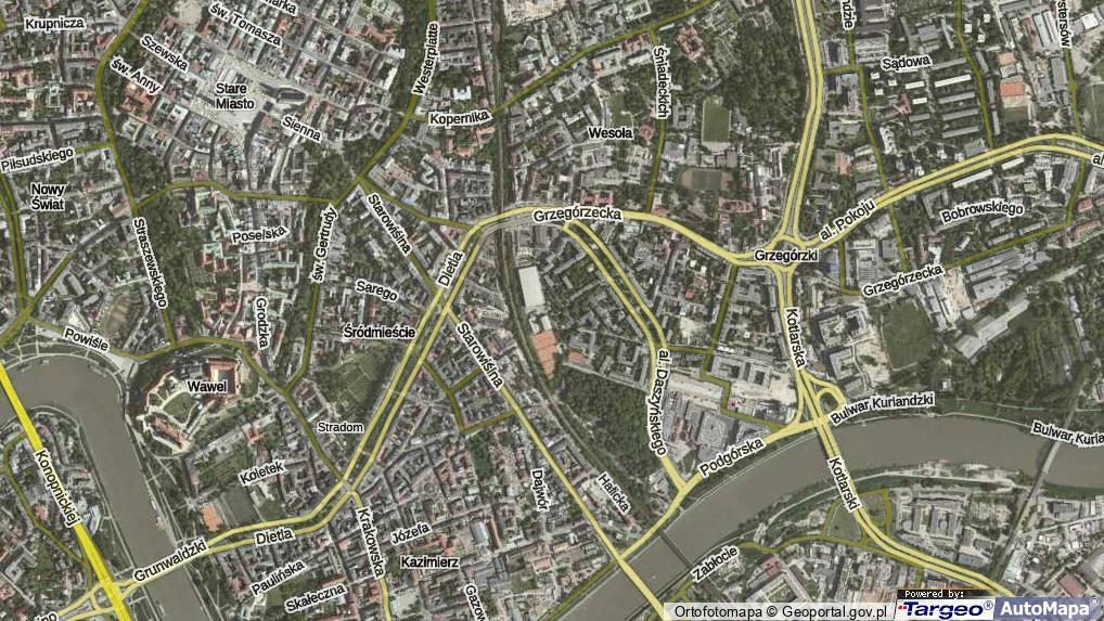 Siedleckiego Michala Krakow Krakow Srodmiescie Ulica 31 536