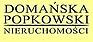 Logo - Agencja Nieruchomości - Domańska & Popkowski, Walecznych 3 03-917 - Biuro nieruchomości, godziny otwarcia, numer telefonu