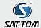 Logo - SAT-TOM, Powstańców Warszawskich 5, Bytom 41-902 - Telewizja - Biuro, Oddział, numer telefonu