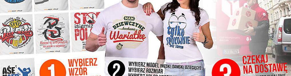 Zdjęcie w galerii Koszulki z nadrukiem - Noszecochce.pl nr 1