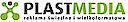 Logo - Plast Media, Katowicka 64, Mikołów 43-190 - Usługi, numer telefonu