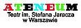 Logo - Teatr Ateneum, Stefana Jaracza 2, Warszawa 00-378 - Przedsiębiorstwo, Firma, numer telefonu