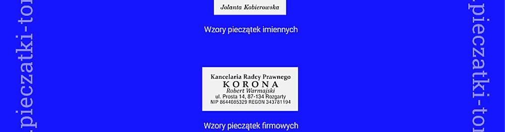Zdjęcie w galerii Pieczątki-Toruń PL nr 1