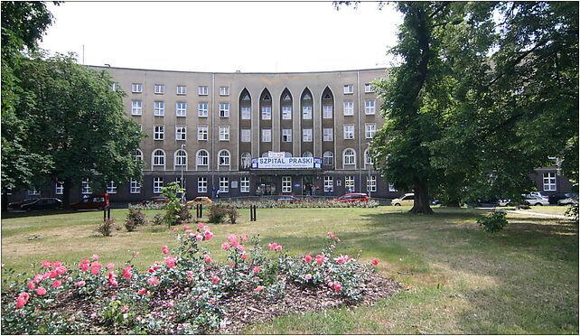 2008-06-15 Szpital Praski w Warszawie, Solidarności, al., Warszawa od 03-709 do 03-716 - Zdjęcia
