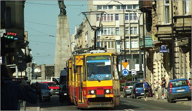 Łodź, Pomorska, tramvaj, Pomorska 19, Łódź 90-202 - Zdjęcia
