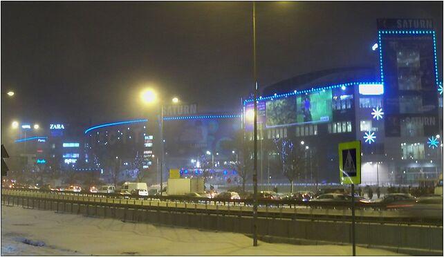 Blue city wieczór1, Aleje Jerozolimskie, Warszawa od 00-697 do 00-888, od 02-001 do 02-342 - Zdjęcia