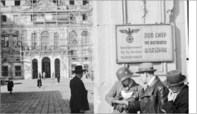 Bundesarchiv Bild 101I-131-0596-15, Warschau, Posten am Gebäude des Distriktchefs 00-072 - Zdjęcia